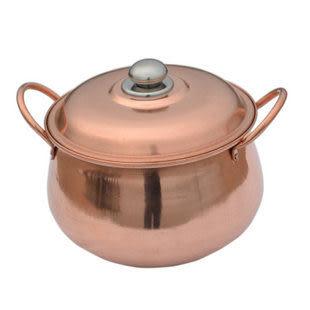 純銅餐具紫銅蒸鍋把手24CM
