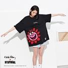 STAYREAL x Keith Haring 微笑綻放寬版T