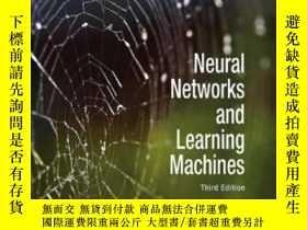 二手書博民逛書店Neural罕見Networks And Learning Machines (3rd Edition)-神經網絡