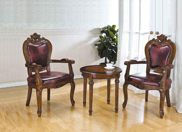 【 IS空間美學】歐式洽談椅