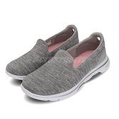 Skechers 休閒鞋 Go Walk 5-Honor 灰 白 女鞋 建走鞋 懶人鞋 舒適緩震 運動鞋【ACS】 15903WGRY