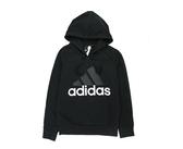 Adidas Essentials 女款黑色連帽長袖上衣-NO.S97081