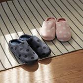 環保拖鞋 室內拖鞋 保暖拖鞋【T0106】點點暖綿綿室內拖鞋 完美主義