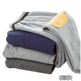 冬季男士保暖褲大碼修身含蠶絲毛褲打底褲加厚加絨褲秋褲棉褲單件