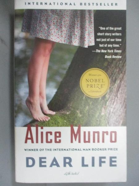 【書寶二手書T7/原文小說_CS1】Dear Life_Alice Munro