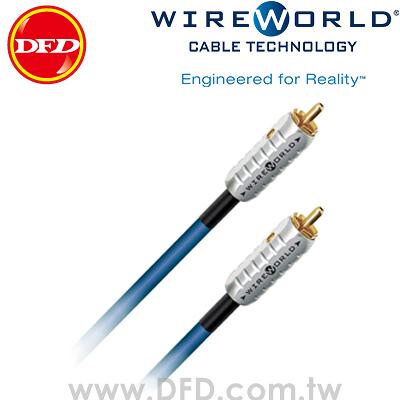 WIREWORLD LUNA 7 月亮 6.0M Subwoofer cables 重低音訊號線 原廠公司貨