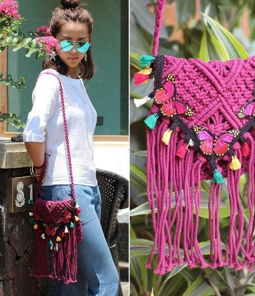 熱銷歐美 民族風包包 手工刺繡包 編織包 男女 電腦包 手提肩背包 旅行 草編包 斜背包
