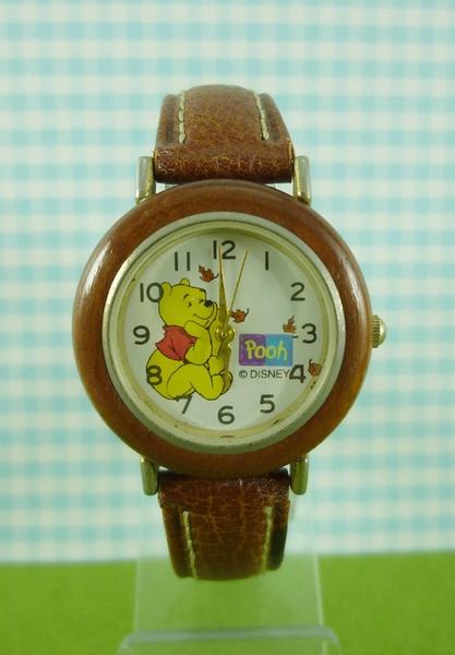 【震撼精品百貨】Winnie the Pooh 小熊維尼~手錶~楓葉