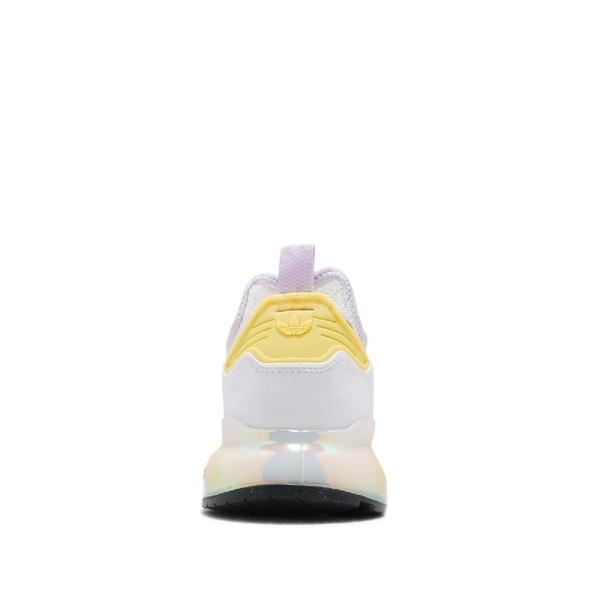 adidas 休閒鞋 ZX 2K Boost W 白 粉紅 黃 女鞋 三葉草 運動鞋 【ACS】 FY3028
