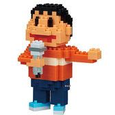 《 Nano Block 迷你積木 》【 哆啦 A 夢系列 】NBCC - 039 胖虎 ╭★ JOYBUS玩具百貨