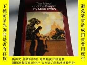 二手書博民逛書店the罕見prince and the pauper by ma