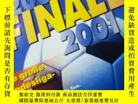 二手書博民逛書店罕見原版KICKER2000-2001賽季德甲總結特輯Y1789