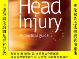 二手書博民逛書店Head罕見Injury: A Practical Guide-頭部損傷:實用指南Y361738 Trevor