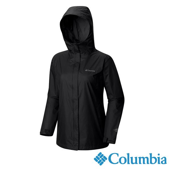 Columbia 女 OT單件式防水外套-黑色 URR24360BK【GO WILD】