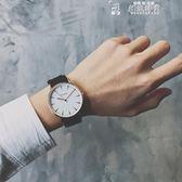 流行男錶手錶女學生韓版簡約潮流 歐美個性潮男復古休閒時尚帆布帶