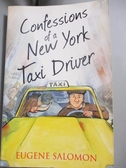 【書寶二手書T3/原文書_NPN】Confessions of a New York Taxi Driver_Salom