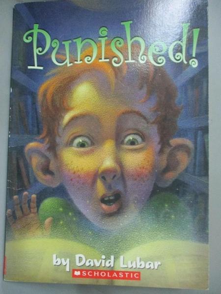 【書寶二手書T5/原文小說_HCO】PUNISHED! BY Lubar, David( Author)Paperbac