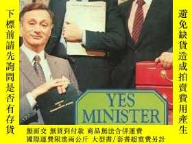 二手書博民逛書店Yes罕見Minister - The Diaries Of A Cabinet Minister By The