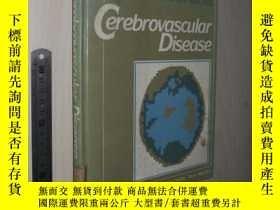 二手書博民逛書店英文原版罕見Cerebrovascular Disease [H