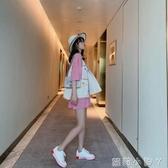 寬鬆小香風V領網紅馬甲無袖外套女士春秋季韓版外穿背心百搭坎肩 蘿莉小腳丫