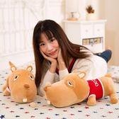 狗狗毛絨玩具玩偶抱枕小型香腸可愛公仔擺件毛絨布藝類玩具【限時八五折】