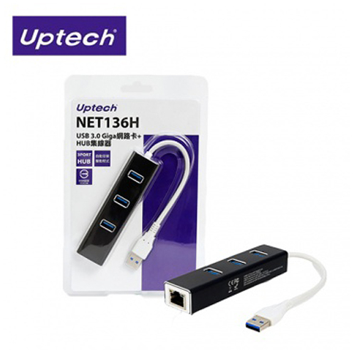 【STAT】Uptech NET 136H 網路卡+HUB集線器