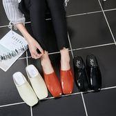 半拖鞋女夏時尚原宿風外穿韓國韓國個性懶人百搭平底外出涼拖鞋女 【限時八五折】