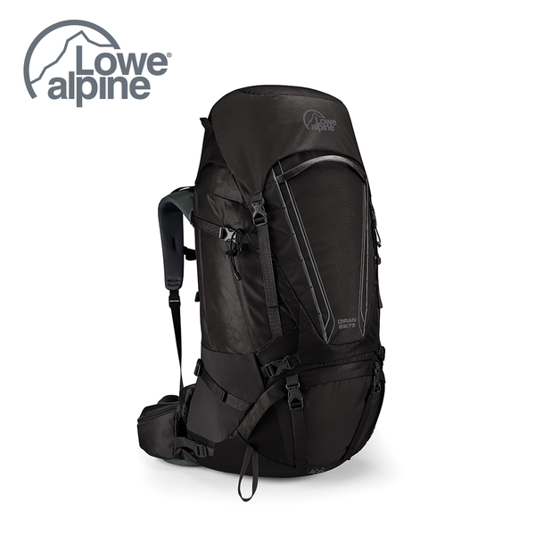 Lowe Alpine Diran 65:75  重裝背負 登山背包 煤碳黑 #FMQ05