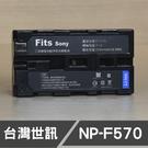 SONY F550 F570 台灣世訊 日製電芯 副廠鋰電池 (一年保固)