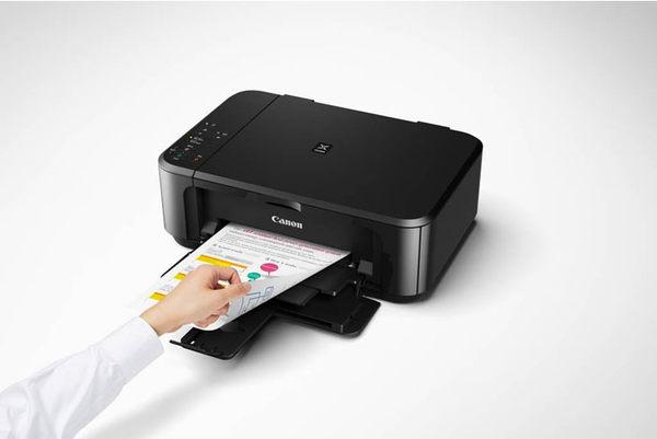 Canon 佳能 PIXMA MG3670 無線雙面多功能複合機(黑/白/紅)