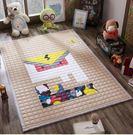 全棉環保寶寶加厚爬行遊戲墊可折疊BS13011『樂愛居家館』