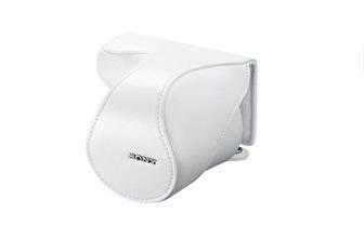 ★數量有限,售完為止★ SONY 皮質鏡頭套 LCS-EL50 麂皮材質內裡、可快速開啟使用 LCD 取景