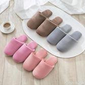 棉拖 珊瑚絨軟底拖鞋女冬季保暖家居室內地板半包跟厚底無聲防滑棉拖鞋 瑪麗蓮安
