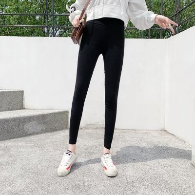 休閒褲M-2XL~夏裝新款外穿打底褲韓版修身顯瘦彈力小腳鉛筆長褲 好質量M028依佳衣