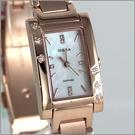 【萬年鐘錶】SIGMA日系 玫瑰金典雅女鑽錶 1021L-RG
