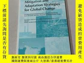 二手書博民逛書店Mitigation罕見and adaptation strategies for Global change:全