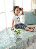 陽臺墊子飄窗墊四季通用定做歐式窗臺墊裝飾臥室飄窗榻榻米墊套毯第一個
