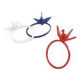 〔APM 飾品〕 Gargle  文化之美:祈願祝福紙鶴戒指白色款藍色款紅色款
