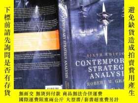 二手書博民逛書店Contemporary罕見Strategy AnalysisY253683 Robert M. Grant