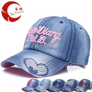 春秋夏季新款男女牛仔棒球帽戶外時尚情侶款鴨舌帽 快速出貨