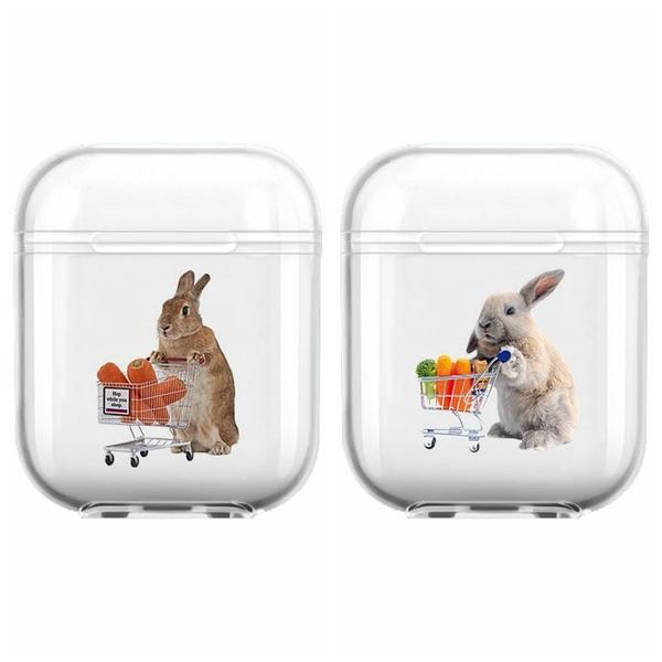 Airpods Pro 專用 1/2代 台灣發貨 [ 兔兔的生鮮超市 ] 藍芽耳機保護套 蘋果無線耳機保護