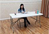 折疊桌子簡易戶外便攜式長桌長方形桌活動桌