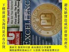 二手書博民逛書店PC罕見Magazine 2006年1月 英文個人電腦雜誌 可用樣板間道具雜誌Y14610