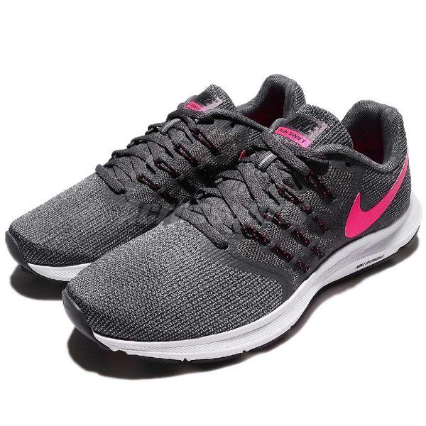 Nike 慢跑鞋 Wmns Run Swift 灰 桃紅 女鞋 運動鞋 【PUMP306】 909006-003