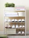 進門鞋架置物架家用簡易多層收納放鞋柜宿舍門口經濟型防塵小架子-新年狂歡!!