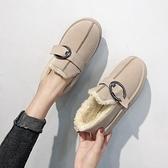 雪靴 雪地靴女新款冬季百搭韓版短筒短靴子平底面包鞋學生加絨棉鞋   夏季狂歡