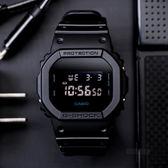 G-SHOCK DW-5600BB-1 碟影計畫時尚運動腕錶 DW-5600BB-1DR 熱賣中!