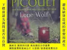 二手書博民逛書店英文原版罕見Lone Wolf by Jodi Picoult