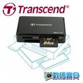 創見 Transcend F9 USB 3.1/3.0 UHS-II 讀卡機 (USB 3.1 Gen 1介面,每秒260/190MB讀/寫速度) TS-RDF9K 免運費