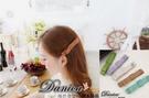 髮夾 現貨 韓國氣質甜美 手作 皮質 雙層 蝴蝶結 髮夾 鴨嘴夾(5色) S7498 批發價 Danica 韓系飾品